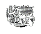G02 MOTOR 2500, DIESEL, TURBO, 200 TDI