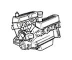 G03 MOTOR V8 BENZIN, VERGASER