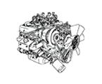 G04 MOTOR V8 BENZIN, VERGASER