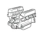 G05 MOTOR V8 BENZIN, EFI