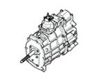 J02 GETRIEBE 77MM, 5 GANG, SCHALTGETRIEBE, V8