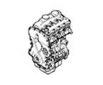 G01 MOTOR MOTOR/BLOCK UND INTERNE BAUTEILE