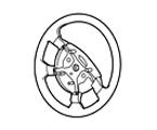 211-06 RAHMEN LENKRAD