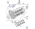 303-01/15 ZYLINDERKOPF, 4.4L DOHC DIESEL V8 DITC (4.4L DOHC DITC V8 DIESEL 260PS) (VON (V)BA000001 )