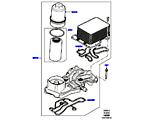 303-02/10 ÖLKÜHLER/ÖLFILTER, 4.4L DOHC DIESEL V8 DITC (4.4L DOHC DITC V8 DIESEL 260PS) (VON (V)BA000001 )