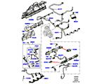 303-04/05 EINSPRITZVENTILE UND LEITUNGEN, 4.4L DOHC DIESEL V8 DITC (4.4L DOHC DITC V8 DIESEL 260PS) (VON (V)BA000001 )