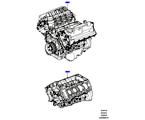 303-01/05C AUSTAUSCHMOTOR UND GRUNDMOTOR, 5.0L OHC SGDI NA V8 PETROL (5.0L OHC SGDI SGM V8 BENZIN - AJ133)