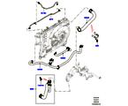 303-03/05D LEITUNGEN U. SCHLÄUCHE - KÜHLSYSTEM, 5.0L OHC SGDI NA V8 PETROL (5.0L OHC SGDI SGM V8 BENZIN - AJ133)