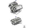 303-01/05C AUSTAUSCHMOTOR UND GRUNDMOTOR, 5.0L OHC SGDI SC V8 PETROL (5.0L OHC SGDI KPM V8 BENZIN - AJ133)