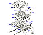 303-01/20C ANSAUGKRÜMMER, 5.0L OHC SGDI SC V8 PETROL, KRÜMMER, LADELUFTKÜHLER UND ABDECKUNG (5.0L OHC SGDI KPM V8 BENZIN - AJ133)
