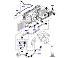 303-03/05C LEITUNGEN U. SCHLÄUCHE - KÜHLSYSTEM, 5.0L OHC SGDI SC V8 PETROL (5.0L OHC SGDI KPM V8 BENZIN - AJ133)