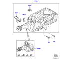 303-04/27B KOMPRESSOR, 5.0L OHC SGDI SC V8 PETROL (5.0L OHC SGDI KPM V8 BENZIN - AJ133)