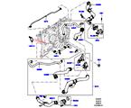 303-03/05C LEITUNGEN U. SCHLÄUCHE - KÜHLSYSTEM, 3.0 DIESEL 24V DOHC TC (3.0L 24 V DOHC V6 TC DIESEL, 3.0L 24V V6 TURBO DIESEL STD FLOW)