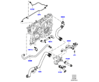 303-03/05B LEITUNGEN U. SCHLÄUCHE - KÜHLSYSTEM, 4.4L DOHC DIESEL V8 DITC (4.4L DOHC DITC V8 DIESEL 260PS)