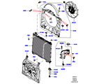 303-03/15D KÜHLER/AUSGLEICHBEHÄLTER, 5.0L OHC SGDI NA V8 PETROL (5.0L OHC SGDI SGM V8 BENZIN - AJ133)
