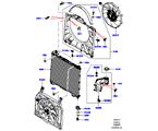 303-03/15B KÜHLER/AUSGLEICHBEHÄLTER, 5.0L OHC SGDI SC V8 PETROL, HAUPTEINHEIT (5.0L OHC SGDI KPM V8 BENZIN - AJ133)