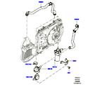 303-03/10C WASSERPUMPE, 5.0L OHC SGDI SC V8 PETROL, ZUSATZEINHEIT (5.0L OHC SGDI KPM V8 BENZIN - AJ133)