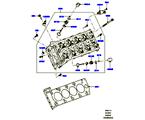 303-01/15B ZYLINDERKOPF, 5.0L OHC SGDI NA V8 PETROL (5.0L OHC SGDI SGM V8 BENZIN - AJ133)