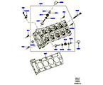 303-01/15B ZYLINDERKOPF, 5.0L OHC SGDI SC V8 PETROL (5.0L OHC SGDI KPM V8 BENZIN - AJ133)