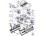 303-01/20B ANSAUGKRÜMMER, 4.4L DOHC DIESEL V8 DITC (4.4L DOHC DITC V8 DIESEL 260PS)