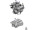 303-01/05B AUSTAUSCHMOTOR UND GRUNDMOTOR, 4.4L DOHC DIESEL V8 DITC (4.4L DOHC DITC V8 DIESEL 260PS)