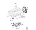 303-01/10B ZYL.BLOCK/VERSCHLUSSSTOPFEN/DECKEL, 5.0L OHC SGDI SC V8 PETROL (5.0L OHC SGDI KPM V8 BENZIN - AJ133)