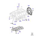 303-01/10B ZYL.BLOCK/VERSCHLUSSSTOPFEN/DECKEL, 5.0L OHC SGDI NA V8 PETROL (5.0L OHC SGDI SGM V8 BENZIN - AJ133)