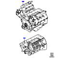 303-01/05 AUSTAUSCHMOTOR UND GRUNDMOTOR, 3.0L DOHC GDI SC V6 PETROL (3.0L DOHC GDI SC V6 PETROL) (VON (V)EA000001 )