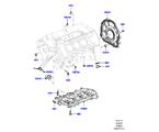 303-01/10 ZYL.BLOCK/VERSCHLUSSSTOPFEN/DECKEL, 3.0L DOHC GDI SC V6 PETROL (3.0L DOHC GDI SC V6 PETROL) (VON (V)EA000001 )