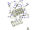 303-01/15 ZYLINDERKOPF, 3.0L DOHC GDI SC V6 PETROL (3.0L DOHC GDI SC V6 PETROL) (VON (V)EA000001 )