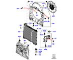 303-03/15A KÜHLER/AUSGLEICHBEHÄLTER, 3.0L DOHC GDI SC V6 PETROL, HAUPTEINHEIT (3.0L DOHC GDI SC V6 PETROL)