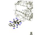 303-04/13 EINSPRITZPUMPE AN MOTOR ANGEBAUT, 3.0L DOHC GDI SC V6 PETROL (3.0L DOHC GDI SC V6 PETROL) (VON (V)EA000001 )