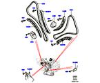 303-09/05B STIRNRADTRIEB, 3.0L DOHC GDI SC V6 PETROL, STEUERKETTEN, SPANNER (3.0L DOHC GDI SC V6 PETROL) (VON (V)EA000001 )