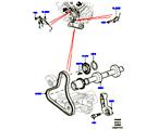 303-09/05C STIRNRADTRIEB, 3.0L DOHC GDI SC V6 PETROL, ZUSATZANTRIEB (3.0L DOHC GDI SC V6 PETROL) (VON (V)EA000001 )