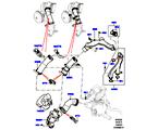 303-03/20A THERMOSTAT/GEHÄUSE UND ANBAUTEILE, 3.0L DOHC GDI SC V6 PETROL (3.0L DOHC GDI SC V6 PETROL) (VON (V)EA000001 )