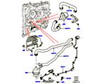 303-03/10B WASSERPUMPE, 3.0 DIESEL 24V DOHC TC, ZUSATZEINHEIT (3,0L V6 DIESEL-ELEKTRIK-HYBRIDMOTOR) (VON (V)FA000001 )