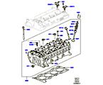 303-01/15B ZYLINDERKOPF, 2.0 16V TURBO BENZINMOTOR (2.0L 16V TIVCT T/C 240PS PETROL) (VON (V)FA000001 )