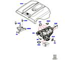 303-01/20E ANSAUGKRÜMMER, 2.0 16V TURBO BENZINMOTOR (2.0L 16V TIVCT T/C 240PS PETROL) (VON (V)FA000001 )