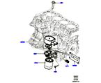 303-02/10B ÖLKÜHLER/ÖLFILTER, 2.0 16V TURBO BENZINMOTOR (2.0L 16V TIVCT T/C 240PS PETROL) (VON (V)FA000001 )