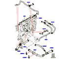 303-03/05E LEITUNGEN U. SCHLÄUCHE - KÜHLSYSTEM, 2.0 16V TURBO BENZINMOTOR (2.0L 16V TIVCT T/C 240PS PETROL) (VON (V)FA000001 )
