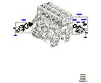 303-03/20B THERMOSTAT/GEHÄUSE UND ANBAUTEILE, 2.0 16V TURBO BENZINMOTOR (2.0L 16V TIVCT T/C 240PS PETROL) (VON (V)FA000001 )