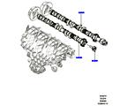 303-09/10B NOCKENWELLE, 2.0 16V TURBO BENZINMOTOR (2.0L 16V TIVCT T/C 240PS PETROL) (VON (V)FA000001 )