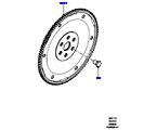 303-11/10B SCHWUNGSCHEIBE, 2.0 16V TURBO BENZINMOTOR (2.0L 16V TIVCT T/C 240PS PETROL) (VON (V)FA000001 )
