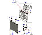 303-03/15D KÜHLER/AUSGLEICHBEHÄLTER, 2.0 16V TURBO BENZINMOTOR (2.0L 16V TIVCT T/C 240PS PETROL) (VON (V)FA000001 )