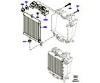 303-03/15D KÜHLER/AUSGLEICHBEHÄLTER, 3.0 DIESEL 24V DOHC TC, ZUSATZEINHEIT (3.0 V6 D GEN2 TWIN TURBO, 3.0 V6 D LOW MT ROW, 3.0 V6 D GEN2 MONO TURBO) (VON (V)FA000001 )