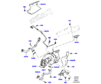303-04/25D TURBOLADER, 3.0 DIESEL 24V DOHC TC (3.0 V6 D LOW MT ROW, 3.0 V6 D GEN2 MONO TURBO) (VON (V)FA000001 )