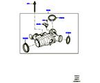 303-04/15B DROSSELKLAPPENGEHÄUSE, 3.0 DIESEL 24V DOHC TC (3.0 V6 D GEN2 TWIN TURBO, 3.0 V6 D GEN2 TWIN TURBO, 3.0 V6 D GEN2 MONO TURBO) (VON (V)FA000001 )