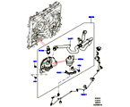 303-03/10C WASSERPUMPE, 3.0 DIESEL 24V DOHC TC, ZUSATZEINHEIT (3.0 V6 D GEN2 TWIN TURBO, 8-GANG-AUTOM.-GETRIEBE ZF 8HP70 4WD, 3.0 V6 D LOW MT ROW, 3.0 V6 D GEN2 MONO TURBO) (VON (V)FA000001 )