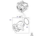 303-03/10D WASSERPUMPE, 3.0 DIESEL 24V DOHC TC, HAUPTEINHEIT (3.0 V6 D GEN2 TWIN TURBO, 3.0 V6 D GEN2 TWIN TURBO, 3.0 V6 D LOW MT ROW, 3.0 V6 D GEN2 MONO TURBO) (VON (V)FA000001 )