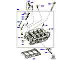 303-01/15B ZYLINDERKOPF, 3.0 DIESEL 24V DOHC TC (3.0 V6 D GEN2 TWIN TURBO, 3.0 V6 D LOW MT ROW, 3.0 V6 D GEN2 MONO TURBO) (VON (V)FA000001 )